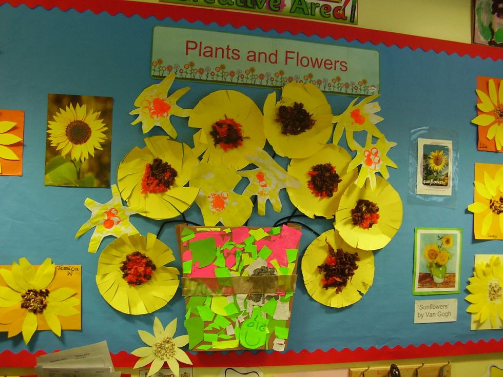 We are learning about Plants and Flowers