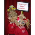 Receptions Harvest Scarecrows