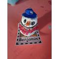 dyn eira clai - clay snowman