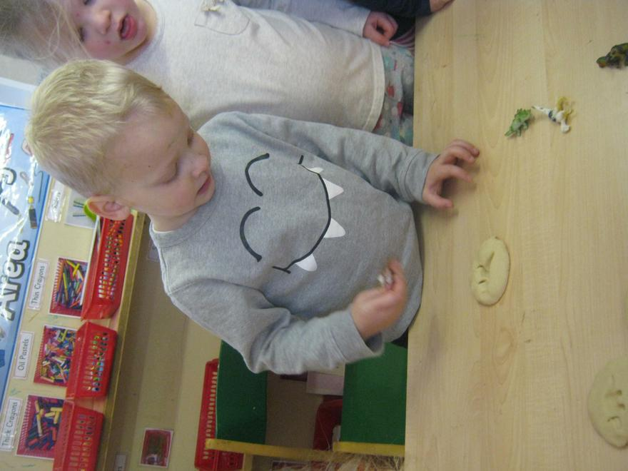We looked at the different patterns we had made.