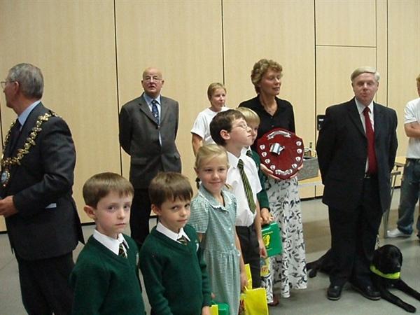 The School Council met the Mayor in 2006