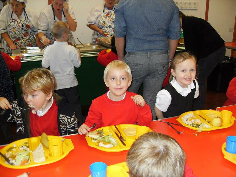 Reception showing great behaviour in the hall