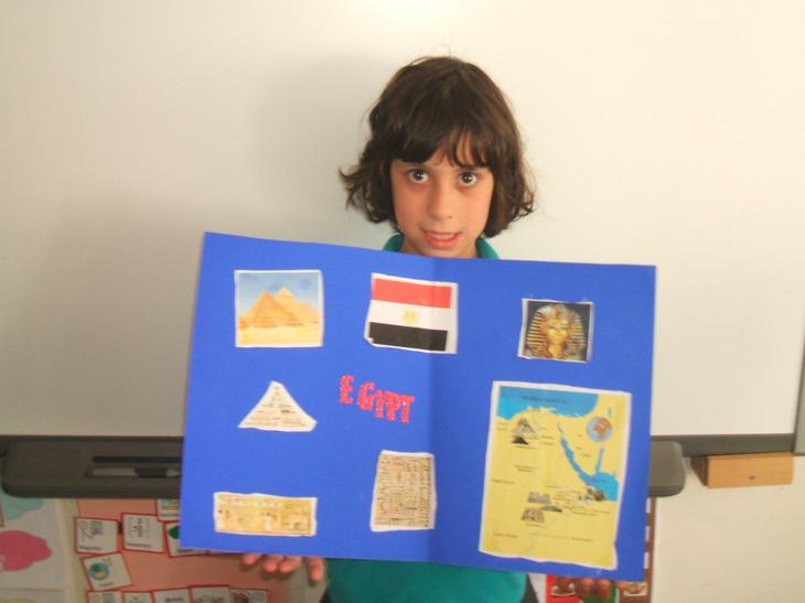 My information poster of Egypt.