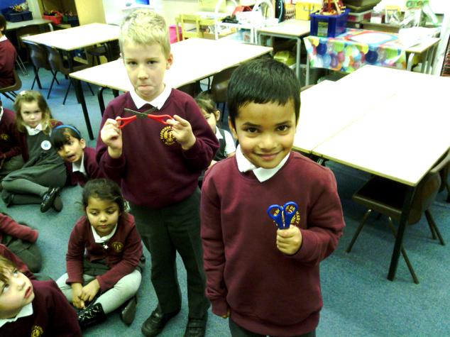 Year 1, staying safe in the classroom!