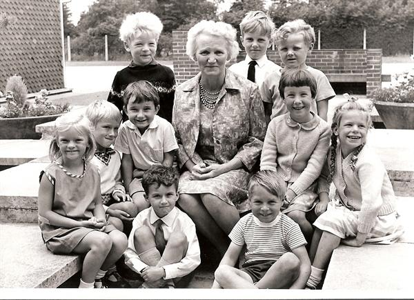 Mrs Baguley's retirement July 1967