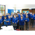 More singing in assembly