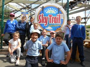 June 2014 - Planters' Sky Trail - Year 6 1