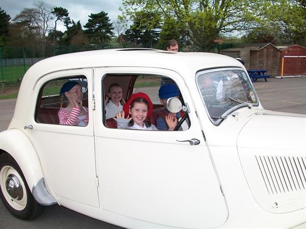 VE Day - Vintage Car