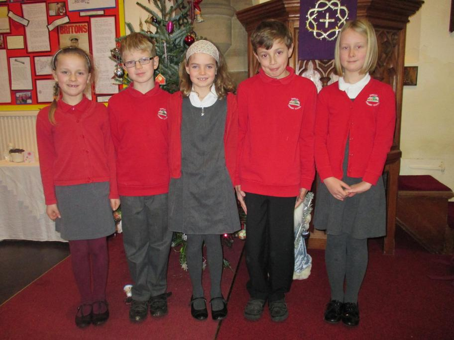 Our wonderful Elms children narrated beautifully