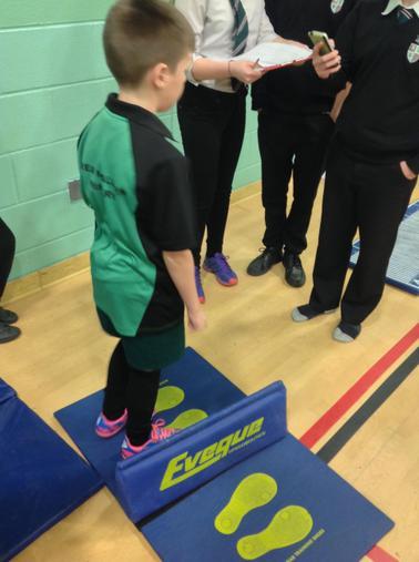 Indoor Athletics -Tenbury High School January 2015