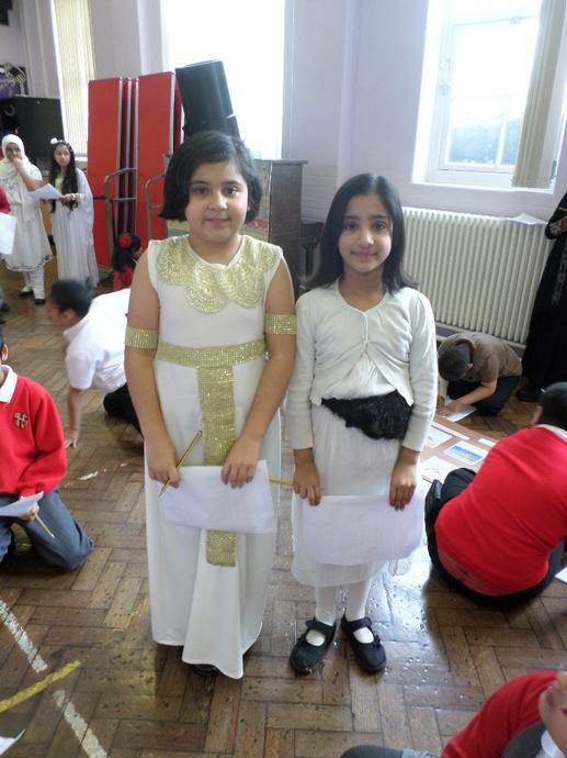 5C dressed as Ancient Egyptians!