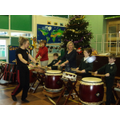 Japanese drumming session