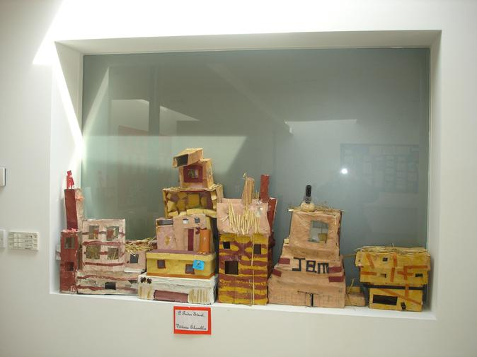 Tudor houses made from modroc