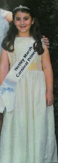 Chloe:Princess at the Netley Marsh Carnival!