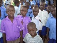 Kajo Keji school pupils