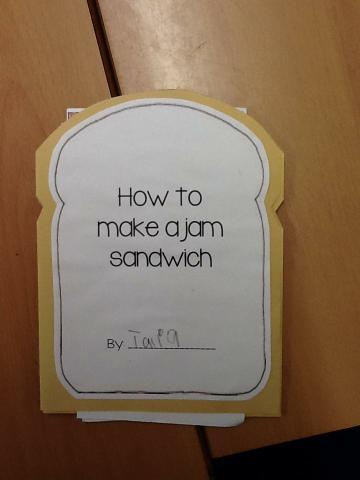 Making an instruction book