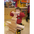Construction-we built different types of castles