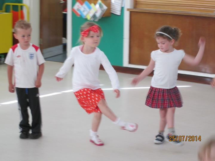 Our dance workshop with Sarah.