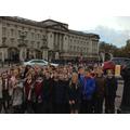 At Buckingham Palace!