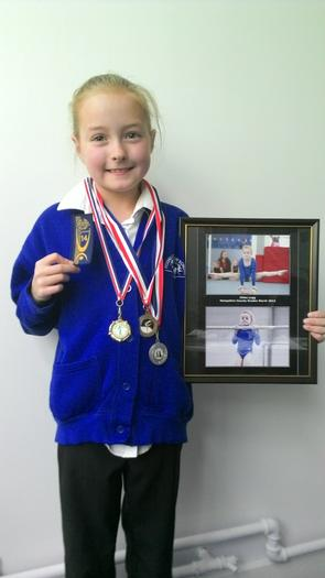 Chloe - Grading Gymnastic competition