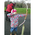 Improving our aiming in archery
