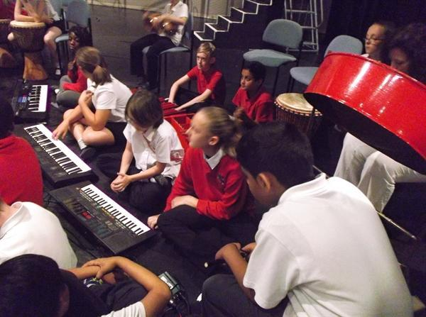 Jazz workshop at The Castle Theatre