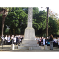 We took part in a meomorial service