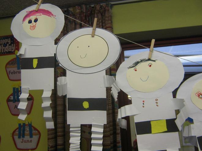 Year 1 Bouncy Spacemen