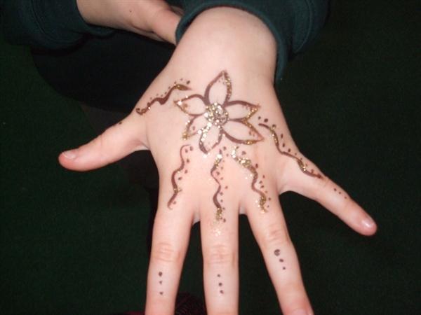 Rangoli inspired hand painting!