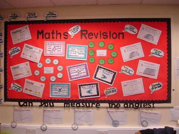 Maths wall