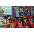 Miss Hamby with Class 6