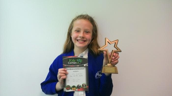 Ellie - Kidz Camp Star of the Week