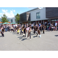 Dance club at the Summer Fair