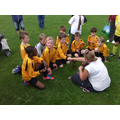 The boys were awarded medals for their victory.