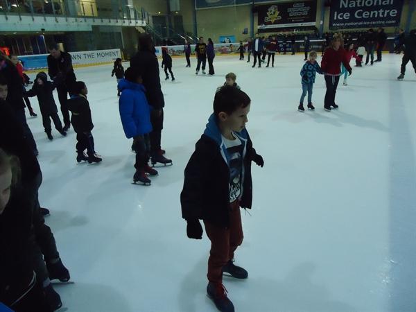 Lawrence enjoying skating