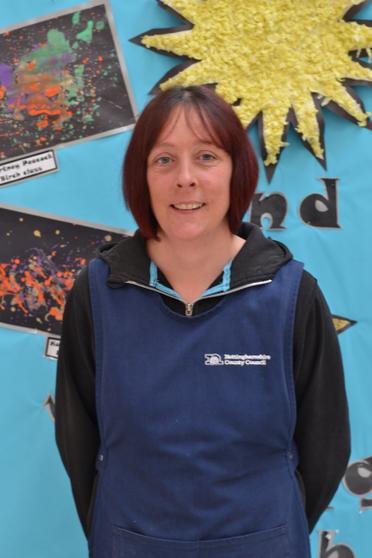 Mrs Batty -  School Cleaner