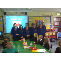 Yr 7 pupils sing in Irish