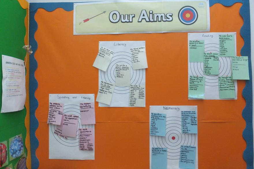 Ongoing assessment reviews next steps in learning