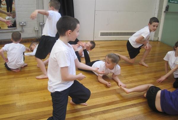 Consiton UCC Dance workshop WW 2