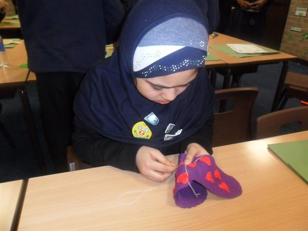 Y6 Slippers Project - D&T