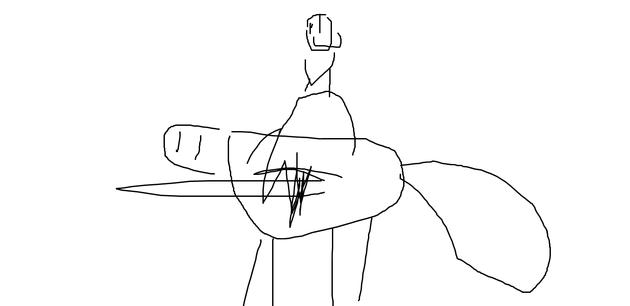 A Horse by Dagan