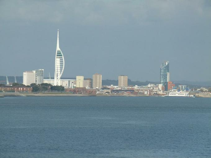 Portsmouth from the ferry