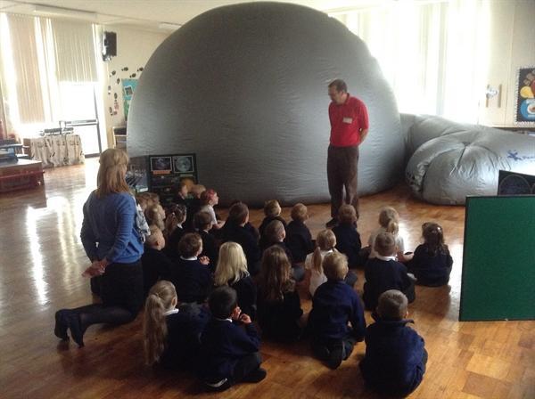 We loved the planetarium!