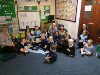Welcome to Middleton St Mary's C of E primary school nursery. We are in 2 classes Mon / Tues / Wed am - apple class and Wed pm / Thurs and Fri pear class. 2