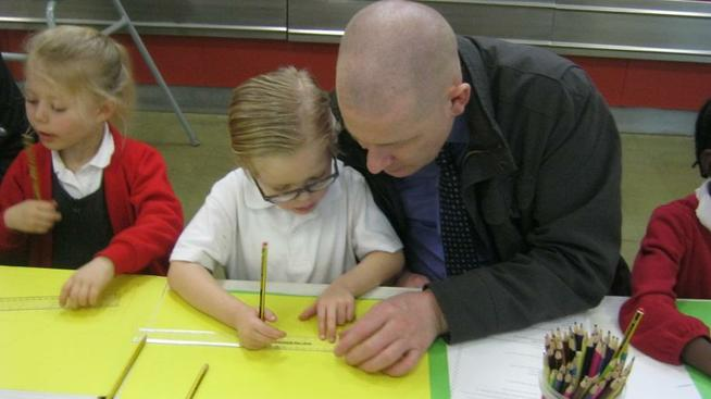 We invited parents to our Maths Workshop