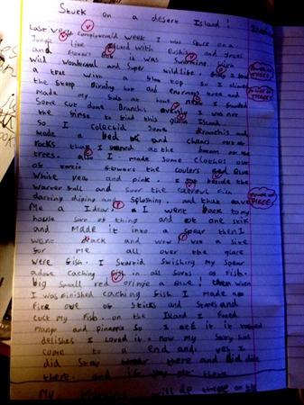 Brilliant Big Writing!
