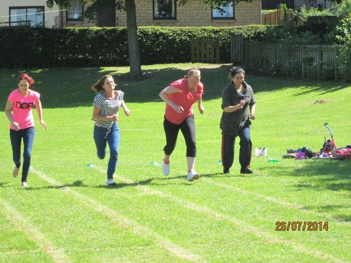 The mums running race