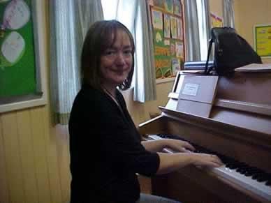 Mrs Alison Elmslie, Music teacher