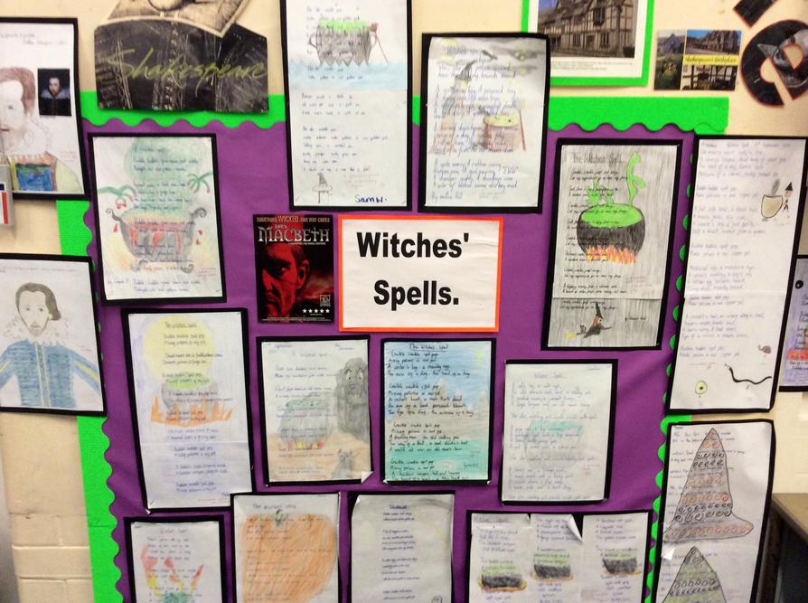 Y6 writing based on Shakespeare's Macbeth