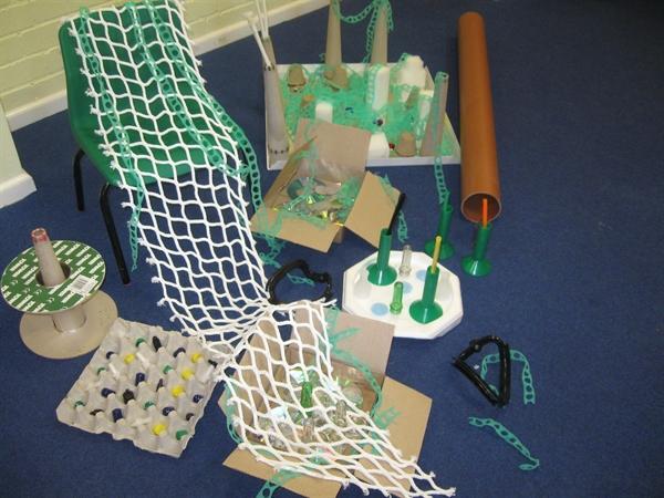 Weave materials
